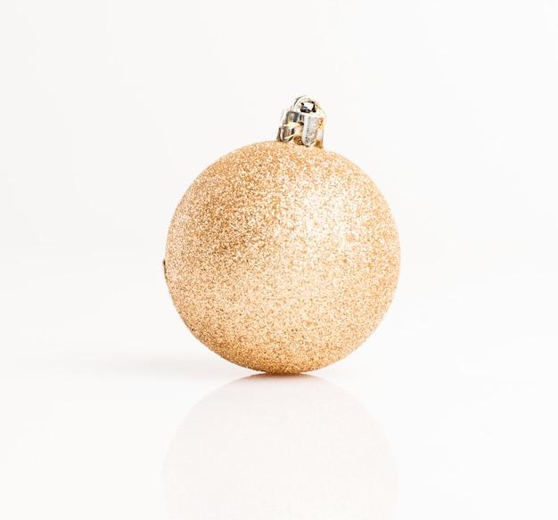 Крупным планом блестящей рождественский бал