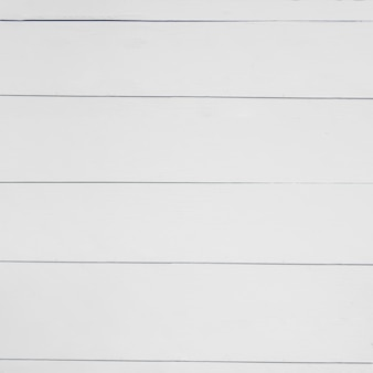Close-up of a white wooden table