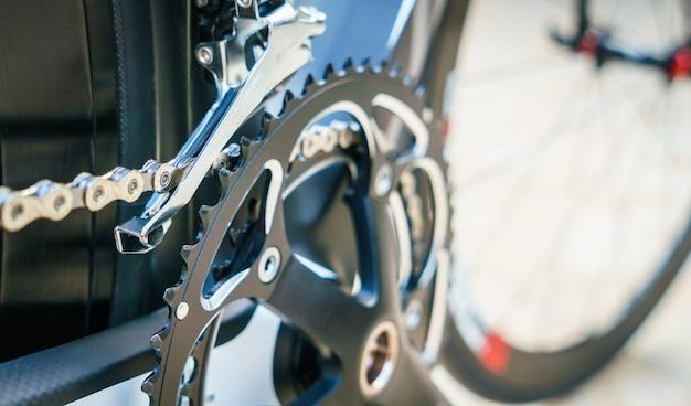 閉じる自転車ギアのアップ