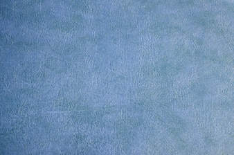 Close up of Blue leather texture background