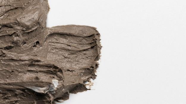 Крупным планом текстуры глиняный горшок