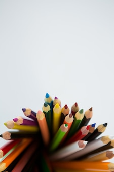 色鉛筆のクローズアップ