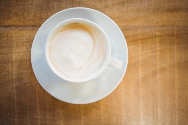 Закройте чашку кофе