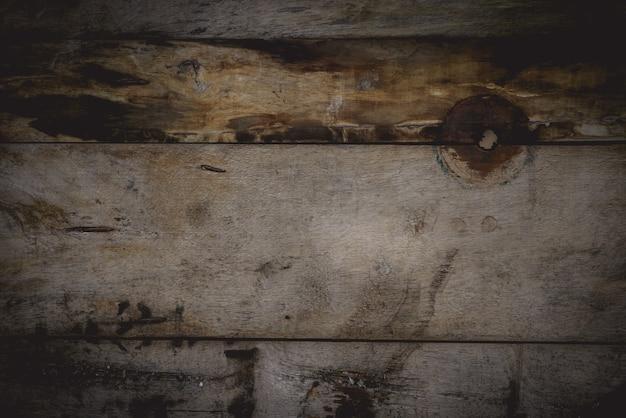 空の古い木製のテクスチャのクローズアップ