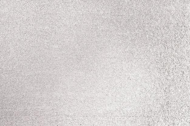 灰色のキラキラテクスチャ背景のクローズアップ