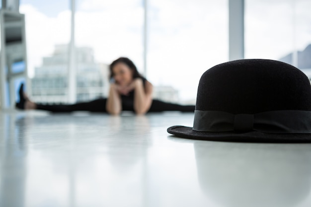 Крупный план шляпы