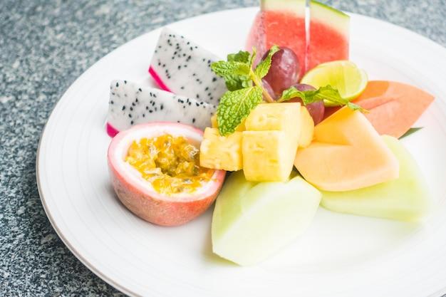 Крупный план здорового завтрака