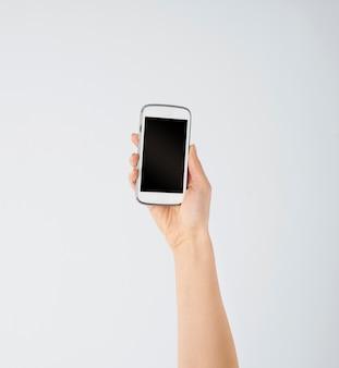 携帯電話のクローズアップ