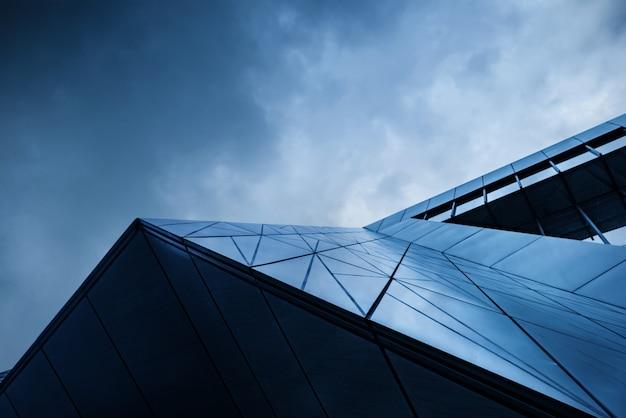 중국 충칭의 현대 건축 클로즈업