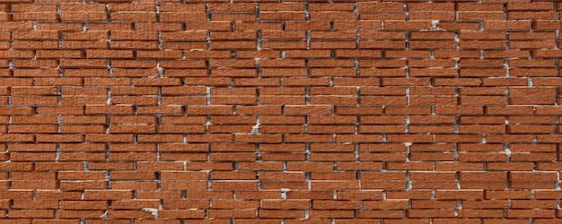 주황색 벽돌 벽의 클로즈업입니다. 벽 질감 배경입니다. 3d 렌더링.