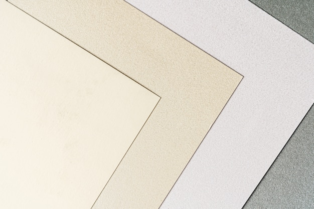 Крупным планом образцы бумаги для поделок