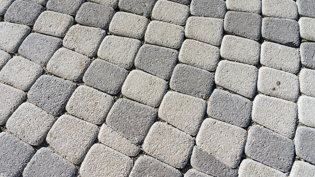 Крупным планом тротуарной плитки на набережной сочи. россия.