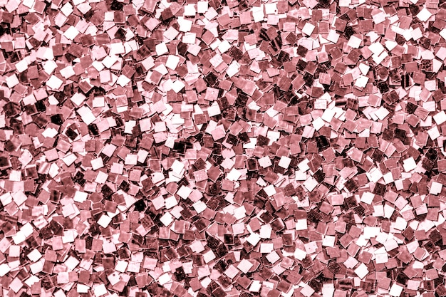 Закройте розовый блест фон