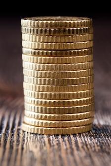 Крупным планом польских денег
