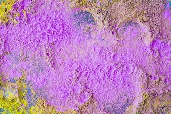 Close-up of purple traditional holi color background