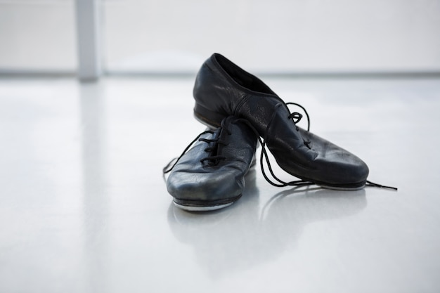 탭 신발 클로즈업
