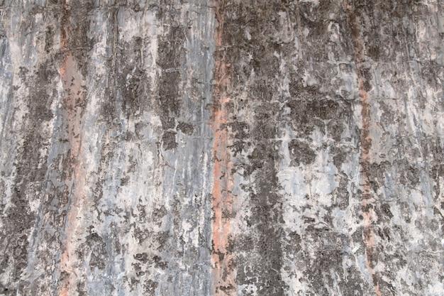 古いセメントの壁、壁紙の色の背景の古いテクスチャの表面のクローズアップ