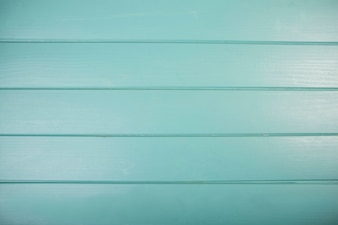 Close-up of turquoise colored wooden plank