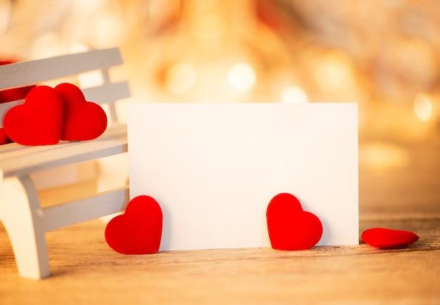 발렌타인 데이 인사말 카드 배경 디자인 컨셉 템플릿 닫습니다