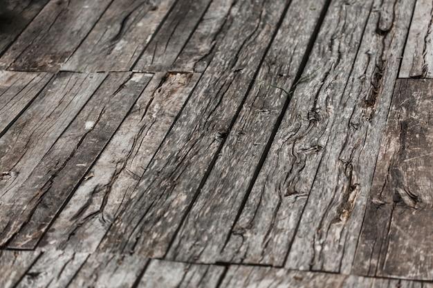 Крупный план выветривания деревянный текстурированный фон