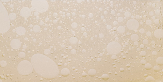 Close-up of oil in water texture