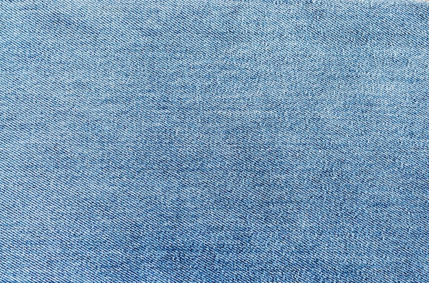 Close up of old denim jean texture.