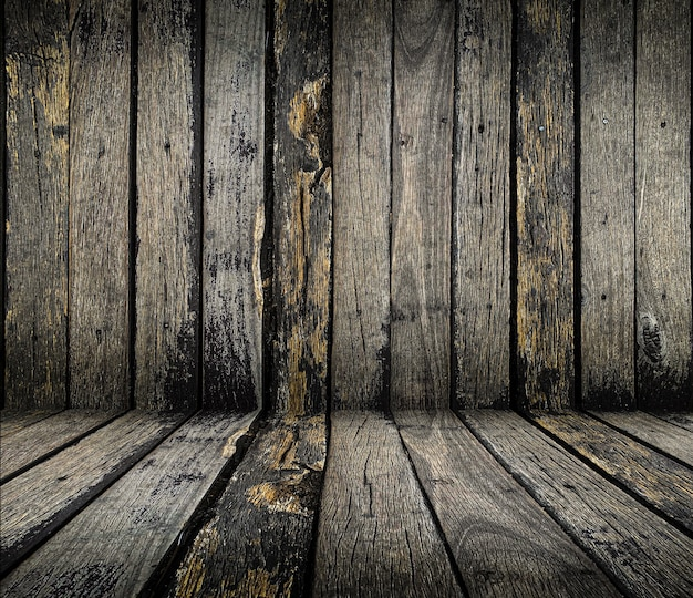 Close up old grunge rustic wooden texture