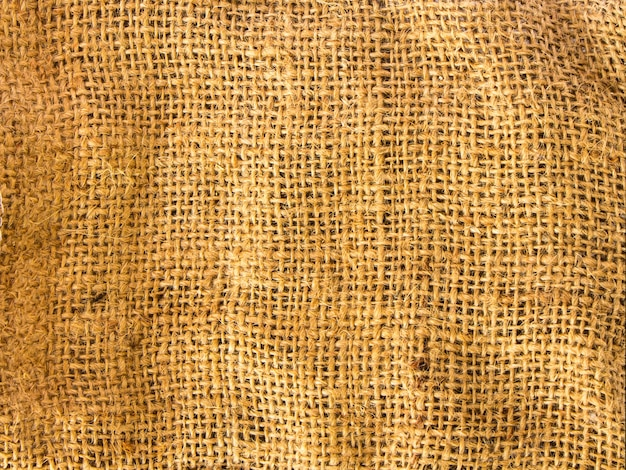 Close up old sack background texture