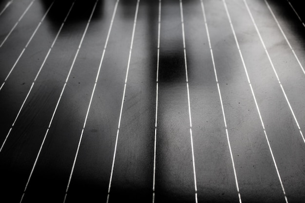 Close-up old solar panels texture. abstract background
