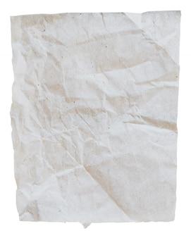 Закрыть старые рваные бумаги на изолированные белом фоне