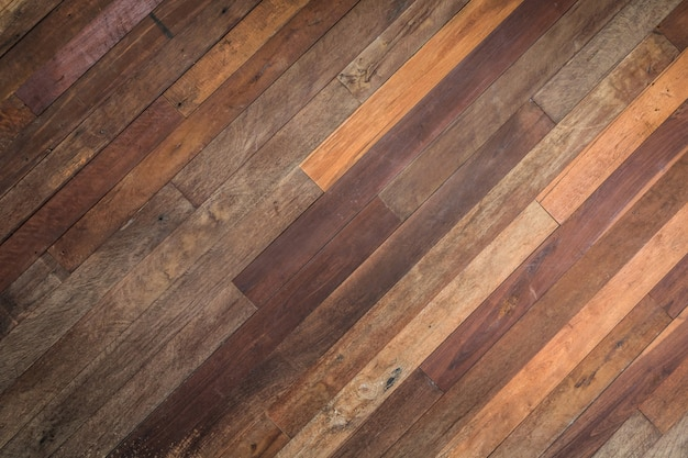 Close up of the old wood plank texture wall background.
