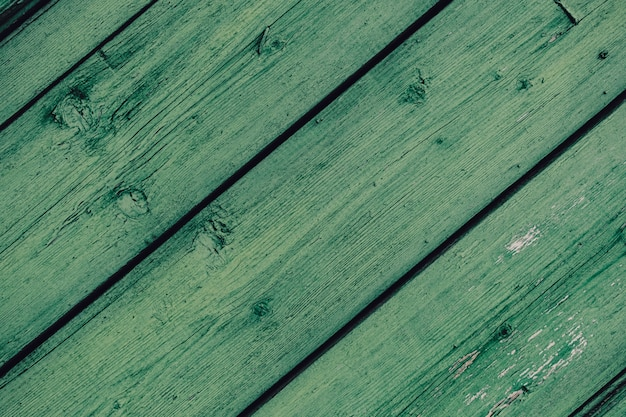 Close up of old wood planks