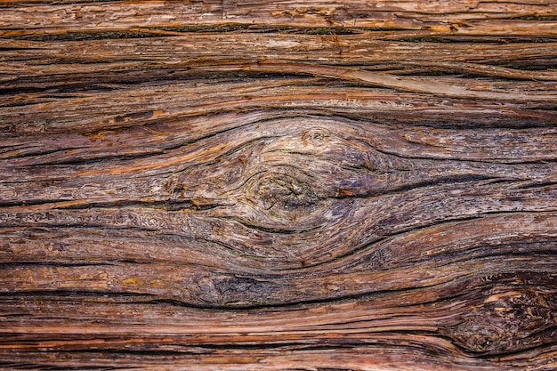 Close up old wooden plank