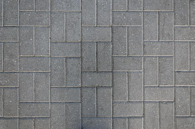 Крупным планом на фоновой текстуры тротуарной плитки