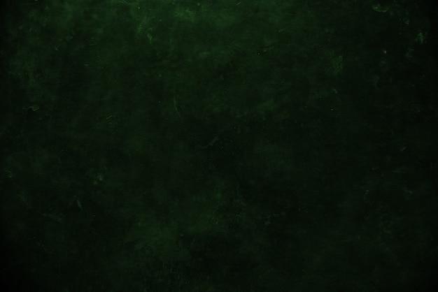 어두운 녹색 그런 지 벽 배경 또는 질감에 가까이