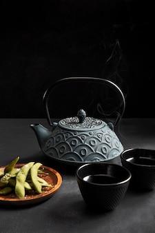 おいしいアジアのお茶をクローズアップ