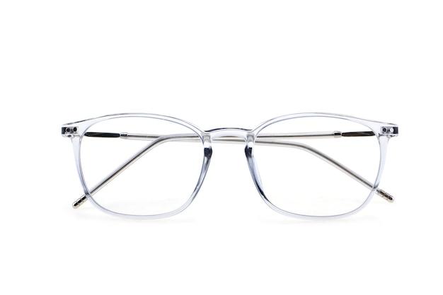 分離された眼鏡フレームにクローズアップ
