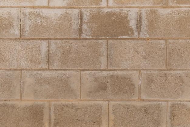 風化したステンドレンガの壁にクローズアップ