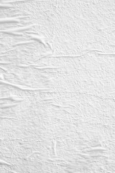 白い紙のテクスチャにクローズアップ