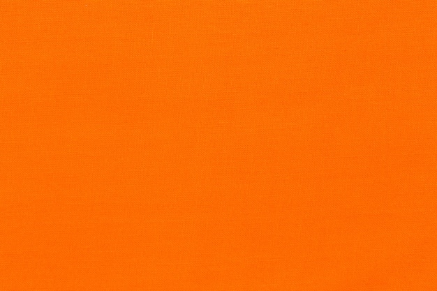 Close up of orange fabric texture background. high quality