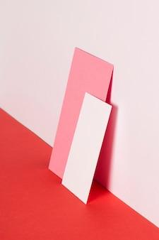 Close-up paper sheets on desk