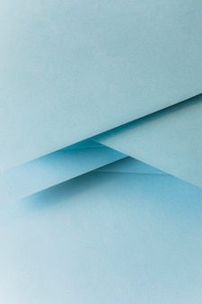 Close-up of pastel blue colored paper banner