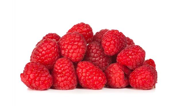 ラズベリーの果実の写真をクローズアップ