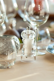 Close up photo of a table setting