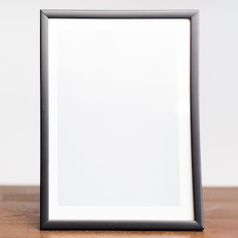 Close-up picture frame on tabletop