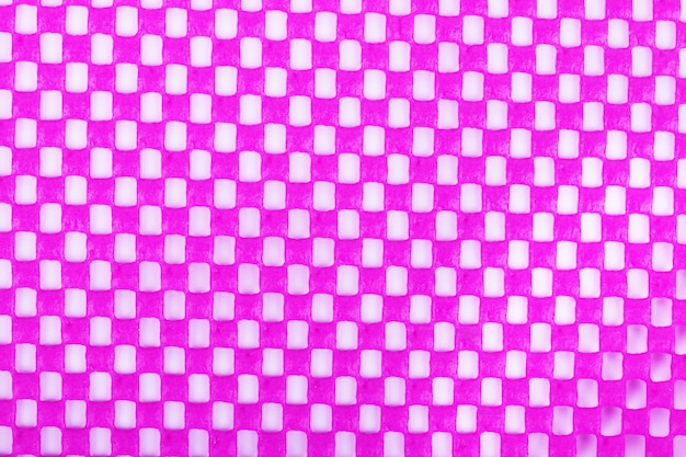 Close-up pink fabric background texture