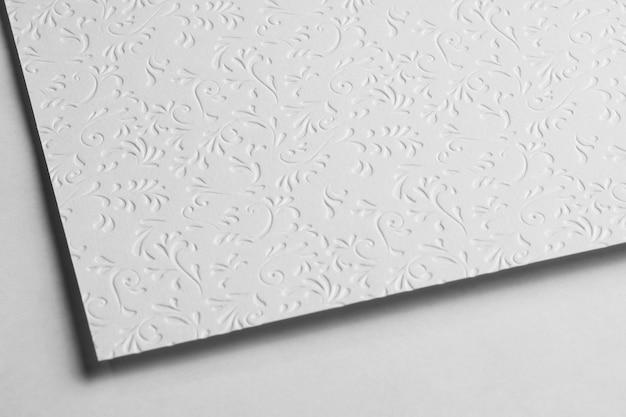 Close-up of plain paper material
