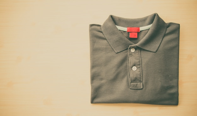 Close up polo shirt