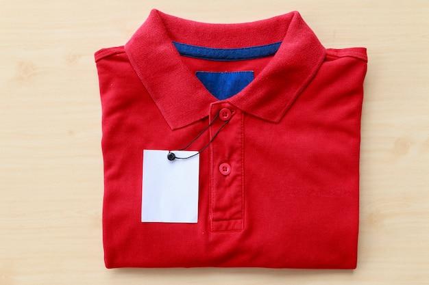 Close up polo shirt Premium Photo