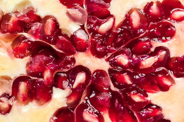 Close-up of pomegranate fruit